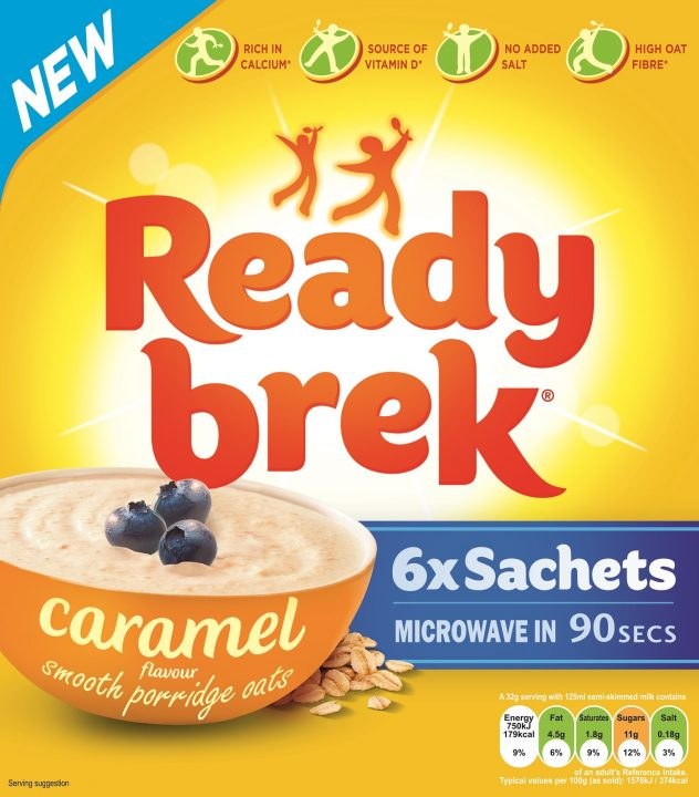 Weetabix Works With Asda For New Ready Brek Flavour Kamcity